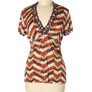 Bcbgmaxazria Short Sleeve Top